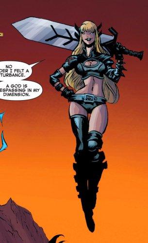 "Custom 3.75"" Marvel MAGIK Human Form figure - poseable & MADE TO ORDER"