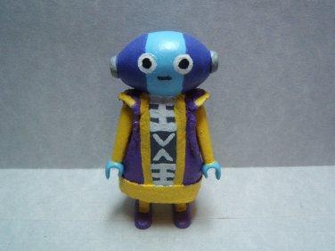 "Custom 3"" Dragonball Super ZEN-OH figure (RARE) - poseable & ready to go"