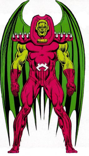 "Custom 3.75"" Marvel ANNIHILUS figure - poseable & MADE TO ORDER"