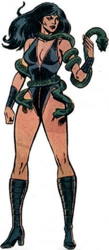 "Custom 3.75"" Marvel BLACK MAMBA figure - poseable & MADE TO ORDER"