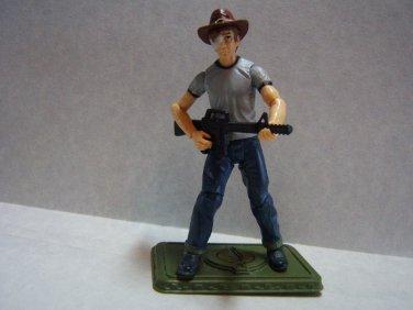 "Custom 3.75"" The Walking Dead CARL GRIMES figure - poseable & ready to go"