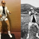 "Custom 3.75"" HUNTER S THOMPSON figure - poseable & MADE TO ORDER"
