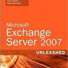Ebook 978-0672329203 Microsoft Exchange Server 2007 Unleashed