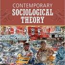 Ebook 978-1452203454 Contemporary Sociological Theory
