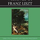 Ebook 978-0810882980 The Collected Writings of Franz Liszt: Dramaturgical Leaves: Essays about Mu