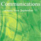 Ebook 978-0742525436 Crisis Communications: Lessons from September 11