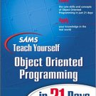 Ebook 978-0672321092 Sams Teach Yourself Object Oriented Programming in 21 Days