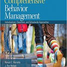 Ebook 978-1412988278 Comprehensive Behavior Management: Individualized, Classroom, and Schoolwide