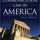 Ebook 978-1442226227 Communication Law in America