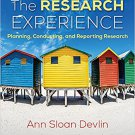 Ebook 978-1506325125 The Research Experience: Planning, Conducting, and Reporting Research