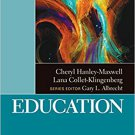 Ebook 978-1412986908 Education (The SAGE Reference Series on Disability: Key Issues and Future Di