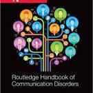 Ebook 978-0415821025 Routledge Handbook of Communication Disorders