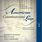 Ebook 978-0742563681 American Constitutional Law: Essays, Cases, and Comparative Notes: Volume 2