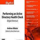 Ebook Performing an Active Directory Health Check (Digital Short Cut)