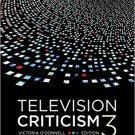 Ebook 978-1483377681 Television Criticism