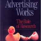 Ebook 978-0761912415 How Advertising Works: The Role of Research (Graduate Survival Skills)