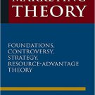 Ebook 978-0765623638 Marketing Theory: Foundations, Controversy, Strategy, and Resource-advantage