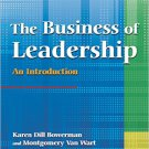 Ebook 978-0765621405 The Business of Leadership: An Introduction: An Introduction