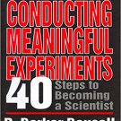 Ebook 978-0803955318 Conducting Meaningful Experiments: 40 Steps to Becoming a Scientist