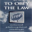 Ebook 978-0847692552 The Duty to Obey the Law: Selected Philosophical Readings