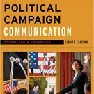 Ebook 978-1442243330 Political Campaign Communication: Principles and Practices (Communication, M