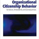 Ebook 978-0761929963 Organizational Citizenship Behavior: Its Nature, Antecedents, and Consequenc