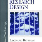 Ebook 978-0761910855 Research Design: Donald Campbell's Legacy: 2