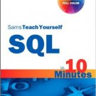 Ebook 978-0672336072 SQL in 10 Minutes, Sams Teach Yourself