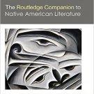 Ebook 978-1138020603 The Routledge Companion to Native American Literature (Routledge Literature