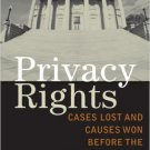 Ebook 978-0742553194 Privacy Rights: Cases Lost and Causes Won Before the Supreme Court