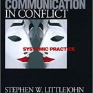 Ebook 978-0761921868 Engaging Communication in Conflict: Systemic Practice