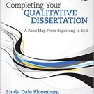 Ebook 978-1506307695 Completing Your Qualitative Dissertation: A Road Map From Beginning to End