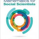 Ebook 978-1506304212 Mathematics for Social Scientists