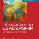 Ebook 978-1452259666 Introduction to Leadership: Concepts and Practice