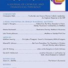 Ebook Pro Ecclesia Vol 17-N1: A Journal of Catholic and Evangelical Theology