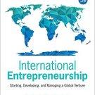 Ebook 978-1483344393 International Entrepreneurship: Starting, Developing, and Managing a Global