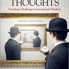 Ebook 978-1452299495 Second Thoughts: Sociology Challenges Conventional Wisdom