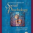 Ebook 978-1412916707 Encyclopedia of Social Psychology