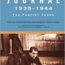 Ebook 978-1442220249 Journal 1935–1944: The Fascist Years (Published in association with the Unit