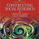 Ebook 978-1412960182 Constructing Social Research: The Unity and Diversity of Method (Sociology f
