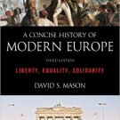 Ebook 978-1442236967 A Concise History of Modern Europe: Liberty, Equality, Solidarity
