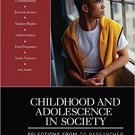 Ebook 978-1412994347 Childhood and Adolescence in Society: Selections From CQ Researcher