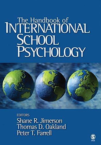 Ebook 978-1412926690 The Handbook of International School Psychology