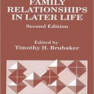 Ebook 978-0803933224 Family Relationships in Later Life (SAGE Focus Editions)