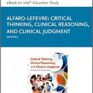 Ebook 978-0323358903 Critical Thinking, Clinical Reasoning, and Clinical Judgment: A Practical Ap