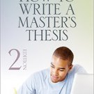 Ebook 978-1452203515 How to Write a Master's Thesis