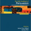 Ebook 978-1412983136 The SAGE Handbook of Persuasion: Developments in Theory and Practice (Sage H
