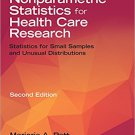 Ebook 978-1452281964 Nonparametric Statistics for Health Care Research: Statistics for Small Samp