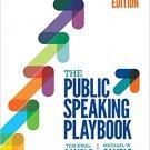 Ebook 978-1506351643 The Public Speaking Playbook