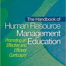 Ebook 978-1412954907 The Handbook of Human Resource Management Education: Promoting an Effective